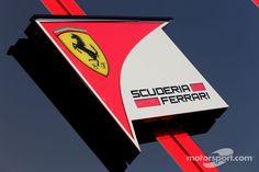 Ferrari's motorhome in Jerez