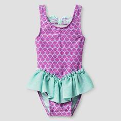 Target Baby Girl Clothes Baby Girls' Tshirt Cat & Jack™  Aqua Float  Target  G I R L