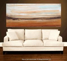ORIGINAL 72 art painting large painting landscape by jolinaanthony, $389.00