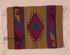 """Zapotec Southwest Place Mat 16""""""""x20"""""""" (q)"""