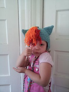 Rainbow Pony Hat Inspired by My Little Pony by freakingpants, $35.00