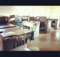 Lala Press - letterpress studio rental in Silver Lake