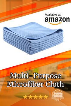 Professional Quality And Grandma Approved Microfiber Cleaning Cloth. Flash Sale Save Today Using Coupon Code PNTSV522 On Amazon Ad