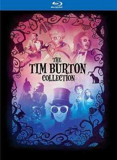 TIM BURTON BD COLLECTION AND BOOK