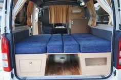 hiace campervan design - Google Search