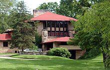 スプリンググリーン市にあるフランク・ロイド・ライトのタリアセン-ウィスコンシン州 - Wikipedia