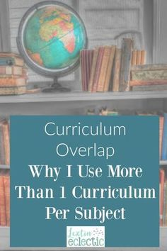 Are you ever worried that you're not doing enough in your homeschool? Read how I overlap various curriculum to fill in the learning gaps in our homeschool.