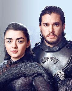 Arya Stark & Jon Snow (GoT S7)