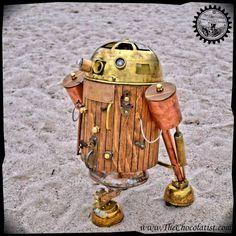 Steampunk R2-D2 Artist: Dan Aetherman