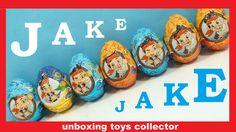 Jake and the Never Land Pirates Fun Toys Surprise Eggs Huevos Sorpresa O...