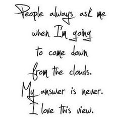 Never : )