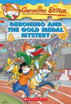 Geronimo Stilton #33: Geronimo and the Gold Medal Mystery (eBook)