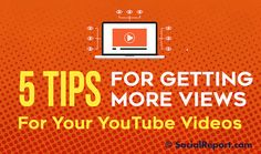 Maximize the value of those YouTube videos by getting more eyeballs on them.