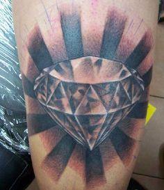 tatuagem de diamante - Pesquisa Google