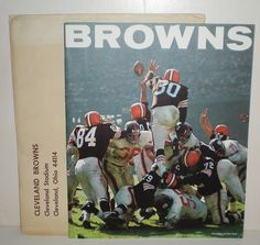 1963 NFL CLEVELAND BROWNS YEARBOOK YEAR BOOK - 1960'S