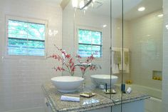 Contemporary Residence - contemporary - bathroom - houston - Wendt Design Group Powder Room, Group, Contemporary, Mirror, Bathrooms, Furniture, Houston, Design, Home Decor