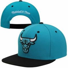 Mitchell & Ness Chicago #Bulls Black Gamma 2T #Snapback Hat - Blue/Black $27.95