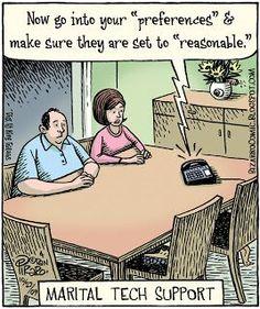 Cartoon Jokes, Funny Cartoons, Gary Larson Comics, Bizarro Comic, Tech Humor, Super Funny Quotes, Relationship Memes, Fun Comics, Dad Jokes