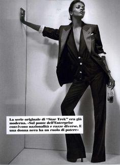 Zoë Saldana - L'uomo Vogue Editorial Tough Chick Ballad Zoe Saldana, February 2011
