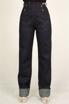 Rivet Jeans by Freddies Of Pinewood http://www.freddiesofpinewood.co.uk/product/242-rivet-jeans