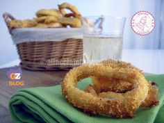 gli anelli di totano veloci possono essere preparati come secondo o come antipasto, sono gustosi e croccantissimi pur non essendo fritti