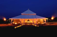 Arabian tent style marquee. Learn the advantages and disadvantages of a wedding marquee.