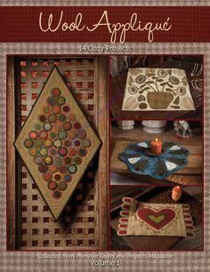 Primitive Wool Applique Vol. 1