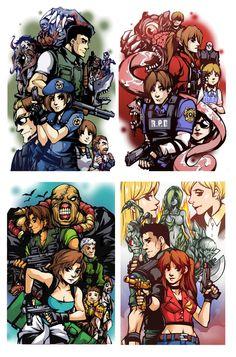 Resident Evil 1 Remake, Resident Evil Girl, Resident Evil Video Game, Geeks, Tyrant Resident Evil, Gif Terror, Resident Evil Collection, Evil Games, Evil Anime