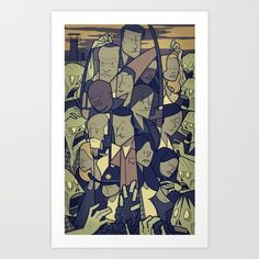 The Walking Dead Art Print by Ale Giorgini - $17.60