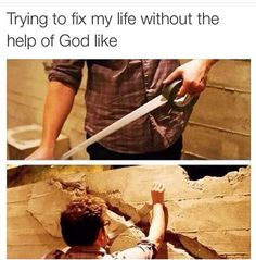 Memes, Jokes, Funny Pictures To Make Your Day. Hilarious Pictures Which Will Tickle Your Funny Bone. Funny Christian Memes, Christian Humor, Christian Quotes, Humor Cristiano, Funny Jokes, Hilarious, Get My Life Together, Period Humor, My Attitude
