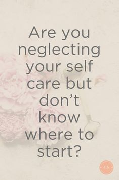 Are you neglecting your self care but don't know where to start? Best Picture For Self discovery Beauty Tips For Skin, Natural Beauty Tips, Face Care Tips, Skin Care Tips, Mental Health Recovery, Health Anxiety, Self Care Activities, Love Tips, Self Care Routine