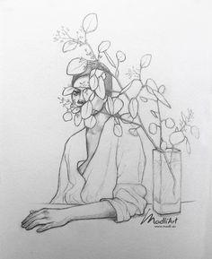 Portrait Sketches, Portrait Art, Portraits, Pencil Art Drawings, Art Drawings Sketches, Illustration Art Drawing, Freelance Illustrator, Drawing People, Art Sketchbook