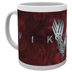 """#Tazza in ceramica """"Logo"""" di #Vikings con stampa."""