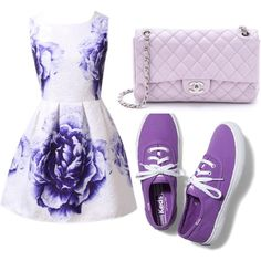 Untitled #8 by carausudiana on Polyvore featuring polyvore beauty Chanel Keds
