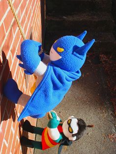 holy felt dolls batman!  these just make me laugh! I want them!!