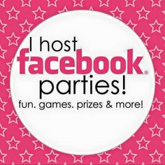 WAHM - Work at Home Mom: How to do an Online Facebook Party