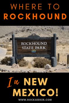 New Mexico is a paradise for rockhounds. If you're going to be anywhere near the area, be sure to check out this ultimate guide about rockhounding in New Mexico. It lists what you'll find as well as where to go to find it! Rocks And Gems, Rocks And Minerals, Crystals Minerals, Places To Travel, Places To See, Travel New Mexico, Gem Hunt, Fossil Hunting, Rock Hunting