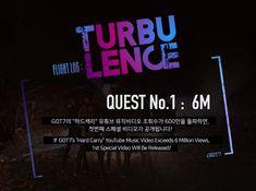 """GOT7 """"하드캐리(Hard Carry)"""" Youtube M/V Views QUEST No.1"""