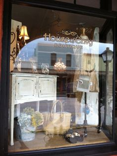 Display Window at House of Envy Boutique