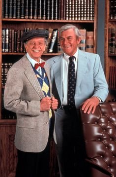 Andy Griffith and Don Knotts