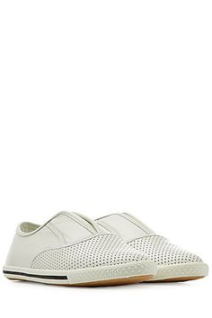 Elevate your casual-cool style in these sporty leather sneakers from Marc by Marc Jacobs #Stylebop