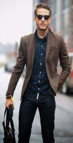 Mens fall fashion outfits ideas with neutral tone 7 Hipster Outfits, Casual Work Outfits, Fall Fashion Outfits, Hipster Fashion, Work Casual, Trendy Fashion, Mens Fashion, Fashion Clothes, Smart Casual