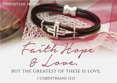 Inspirational Jewelry with a Uplifting Bible Verse Enclosure card. Men, Women, Teen and Children's  Lines