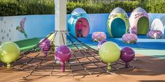 Rouse Hill Centre Playground. Art Dinouveau's Custom design and build of play equipment for GTP Group. #playspace