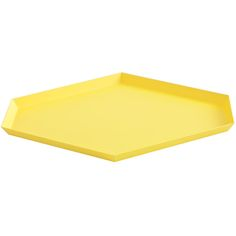 Kaleido tarjotin L, keltainen