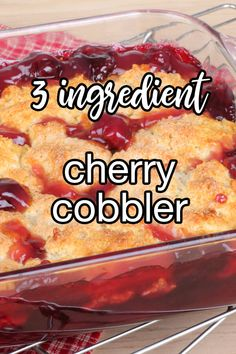 Cake Mix Desserts, Cherry Desserts, Cherry Recipes, Fruit Recipes, Easy Desserts, Sweet Recipes, Baking Recipes, Cherry Pie Filling Desserts, Pineapple Dessert Recipes