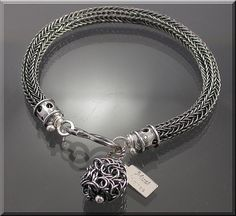 Fine Silver Viking Knit Bracelet by MustHaves by MustHaves on Etsy, $59.99