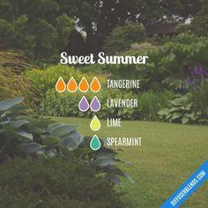 Sweet Summer Diffuser Blend #essentialoil