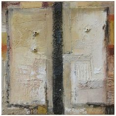 neutralnotes:    Philippe Rillon  Oil & mixed medium