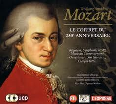 Amadeus Mozart - a very important composer; his music soars and cries. Listen to the wonderful piano concerto below.
